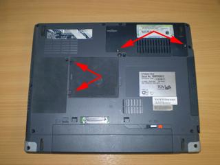 Fujitsu-Siemens S7010 Disassembly